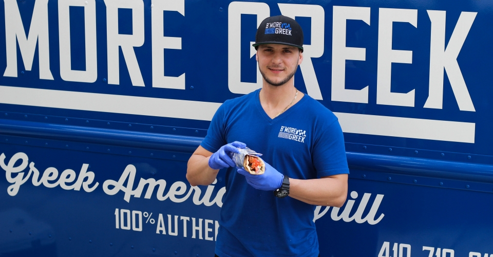 Pita Pete and the BMore Greek Food Truck